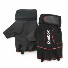 Reebok Men Women Weight Lifting Gloves Gym Body Building Fitness