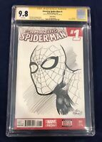 Amazing Spider-Man #1 CGC 9.8 Signed & Spider-Man Sketch by Eric Powell THE GOON