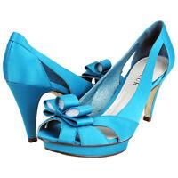 RRP - £189 Top Brand Womens Ladies Peep Toe High Heels Wedding Party Shoes