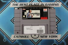 Madden NFL '97, SNES Tested USED