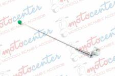 8235- Jauge Porte-Drapeau Chrome Vespa Club Italie pour Garde-Boue Avant