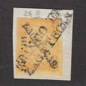 Mexico #23 Period 4 Consignment 148-1865 Zacatecas on Piece