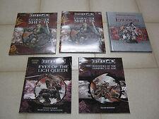 Advanced Dungeons & Dragons AD&D Eberron lot, Lich Queen, Vampire's Blade, etc.