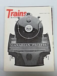 Vtg. Large Lot of Trains The Magazine of Railroading 10 Issues 1969, 1973, 1974