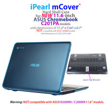 """NEW iPearl mCover® Hard Shell Case for 11.6"""" ASUS Chromebook C201PA model"""
