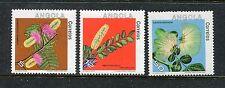 Angola 659-661, MNH, 1983, Plants Flowers 3v  x29182