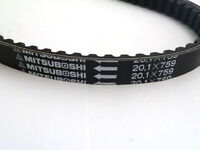 Mitsuboshi Drive CVT Belt 759 20.1 For GY6 125 150cc Scooter ATV Quad 20.1x759