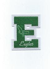 "Philadelphia Eagles Throwback Old Logo E Letter Patch 4"" x 3 1/4"" sew or iron on"