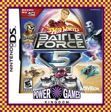 Hot Wheels Battle Force 5 (Nintendo NDS DS lite Dsi XL) Brand New