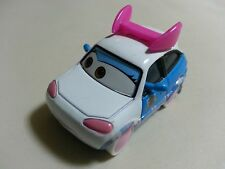 "Mattel Disney Pixar Cars 2 SUKI Japan Drift Car ""I Like You"" Toy Car 1:55 Loose"