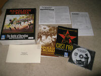 PC BIG BOX CIB GAME NAPOLEON IN RUSSIA BATTLEGROUND 6 COMPLETE