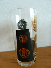 Old Gold Coin Barware Double Old Fashioneds or Highballs One