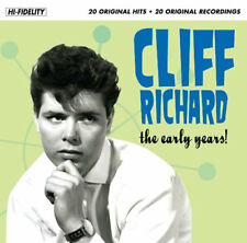 Cliff Richard Songs And Tracks Of The Early Music Years