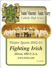 2002-03 St. Vincent High School Program Lebron James