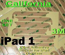 New 3M Apple iPad 3G or WiFi Adhesive Sticker Digitizer