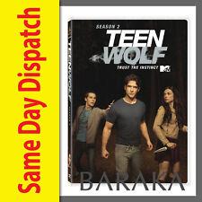 TEEN WOLF Series Season 2 DVD Box Set R4 New 3 Disc Set