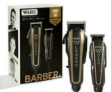 Wahl 8180 5-Star Barber Combo Legend Clipper and Hero Trimmer - Black/Gold