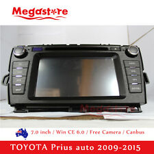 "7.0"" Car DVD Player GPS For TOYOTA Prius auto 2009-2015 head unit can bus"