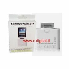 CARD READER KIT IPAD PORTA USB LETTORE SCHEDE 5in1 SD MMC XD MS ADATTATORE