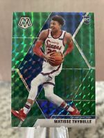 2019-20 Panini Green Mosaic Prizm #245 Matisse Thybulle RC Rookie 76ers