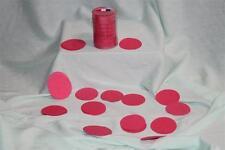 Confettis de scène en forme de ronds rose cyclamen 100 grammes papier de soie