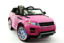 Range Rover Evoque Ride on Toy Car, 12 Volt Battery, W/ Remote Control