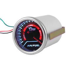 """2"""" 52mm Air/Fuel Ratio Gauge Car Motor Meter Universal Indicator Smoke Lens Led"""