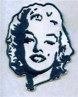 4 INCH  MARILYN MONROE   IRON ON PATCH  BUY 2 GET 3