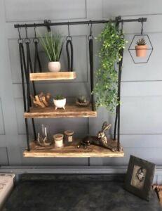 Rustic Shelving Unit Handmade Bespoke
