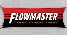 Flowmaster Flag Banner 1.5x5 ft Muffler Exhaust Racing Garage Man Cave Holley