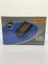 Palm M105 Personal Handheld Organizer Pocket Computer System Handheld New Sealed