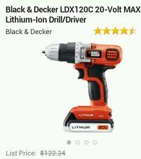 Black & Decker LDX120C 20-Volt MAX Lithium-ion Drill/Driver