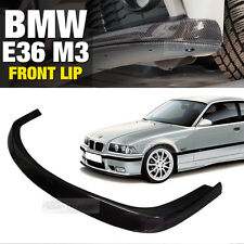 AC Style Carbon Front Bumper Lip Skirt Body Spoiler for BMW 1992-1999 E36 M3