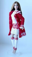 "Handmade knit outfit  for Tonner Doll Cami Antoinette Body 16"" dress"