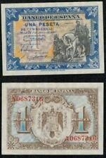 """ESPAÑA 1 peseta Junio 1940 """"Hernan Cortes"""" serie A. nº 0687316. SIN CIRCULAR."""