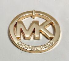 MICHAEL KORS GOLD LARGE METAL  MK LOGO  GOLD   NWOT