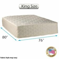"""Highlight Luxury Firm Double-Sided King Size (76""""x80""""x14 4;) Mattress Only"""
