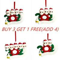 2020 Xmas Christmas Tree Hanging Ornaments Family Ornament Decors