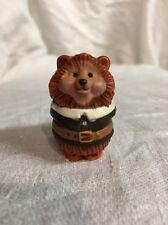 Hallmark Merry Miniatures Thanksgiving Pilgrim Hedgehog mini Figure 1984
