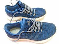 Mens Adidas Running Shoe CLU 600001 Blue Black size 8.5