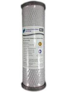 """Silver Impregnated Carbon Replacement Water Filter Cartridge 10"""" x 2.5"""""""