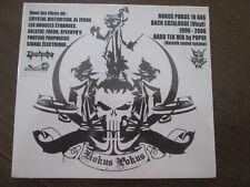 POPOF HERETIK SOUND SYSTEM / HOKUS POKUS 10 ANS MIX / PARAMAMNIAC 01 / SEALED