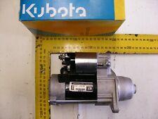 Kubota D905 starter motor 12v mower digger chipper dumper compressor used£65+vat