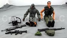 12 In Mixed Poseable Military Action Figures Army Special Ops GI Joe MAC