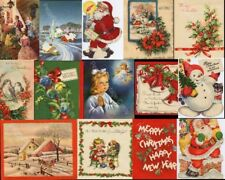 Vintage Christmas Greeting Card CD V.5  280+ Images