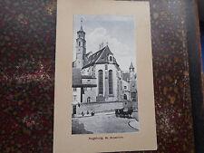 Zwischenkriegszeit (1918-39) Frankierte Ansichtskarten aus Bayern für Dom & Kirche