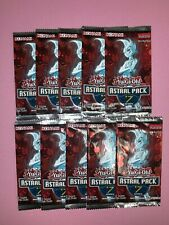 Yu-Gi-Oh! Sealed! Astral Pack 7 Booster Packs x10