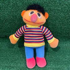 "Vintage 70's Knickerbocker Sesame Street Muppet Ernie Plush Toy Figure 10"",Elmo"