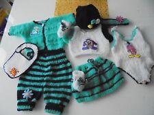 Puppenkleidung 10-teilig 43cm für Baby Born / Krümel NEU
