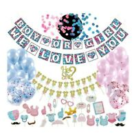 2021Best Gender Reveal Party Supplies 100pc Baby Shower Gender Reveal Decoration